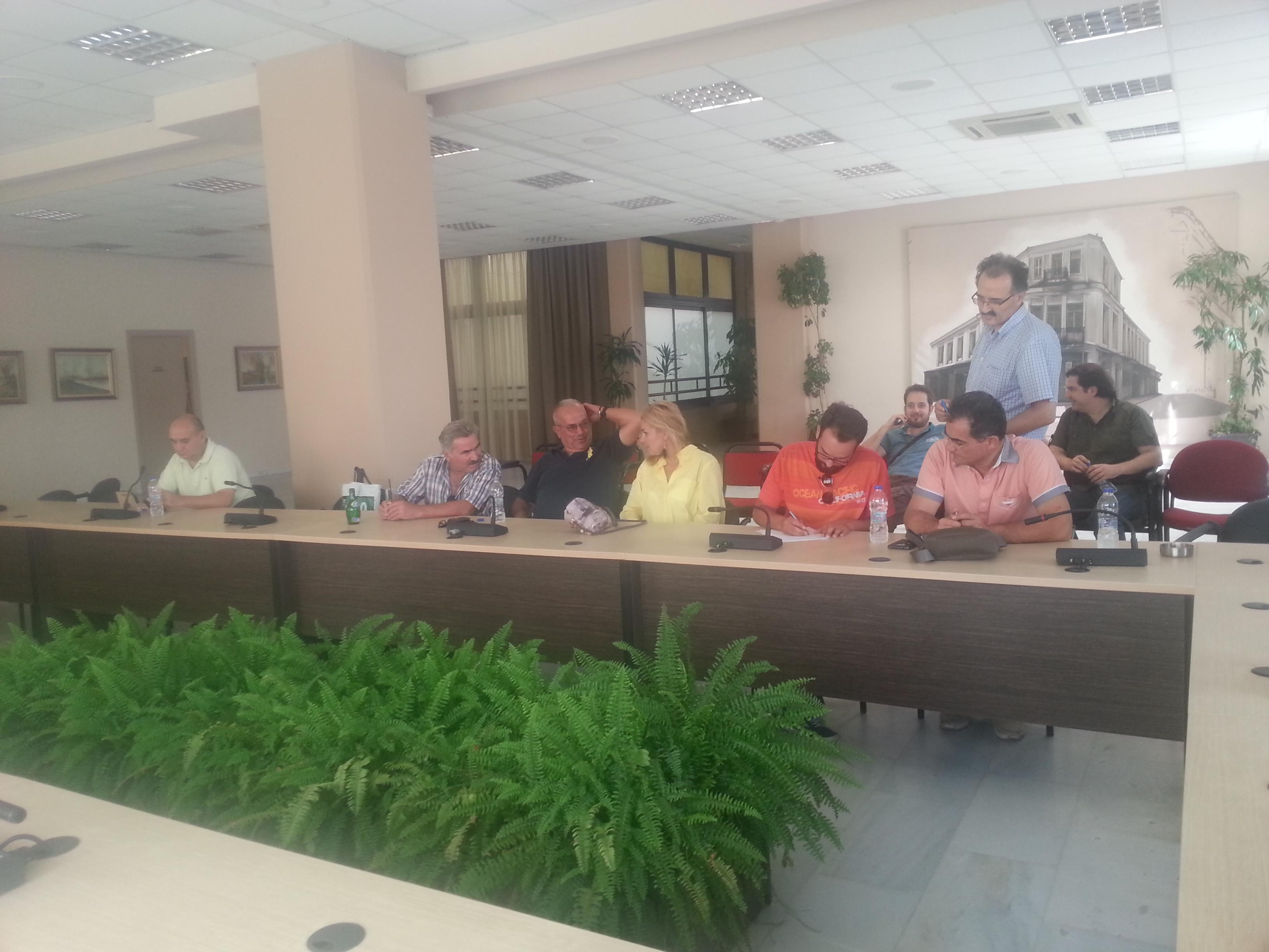 Συνεδρίασε η Διακομματική Επιτροπή στο Δήμο Κατερίνης