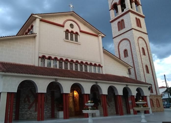 Πανηγυρίζει ο Ιερός Ναός Αγίας Παρασκευής στην Κατερίνη
