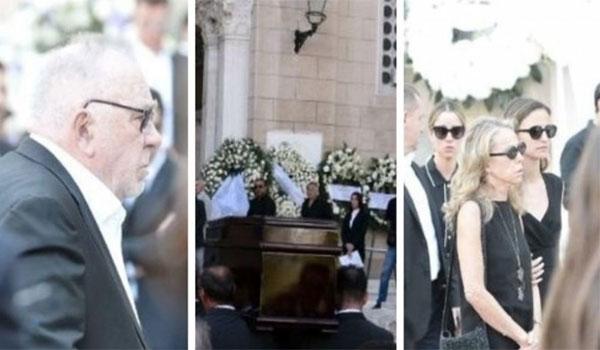 Ράγισαν καρδιές στην κηδεία του Σωκράτη Κόκκαλη Jr. Συντετριμμένοι συγγενείς και φίλοι