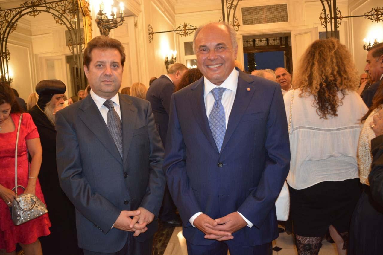 Ο πρόεδρος του Κοινωφελούς Ιδρύματος «Διονύση Α. Πασχάλη» επίσημος προσκεκλημένος του Πρέσβη της Αιγύπτου