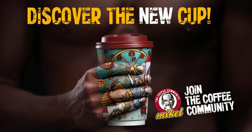 Mikel: Discover the new cup!