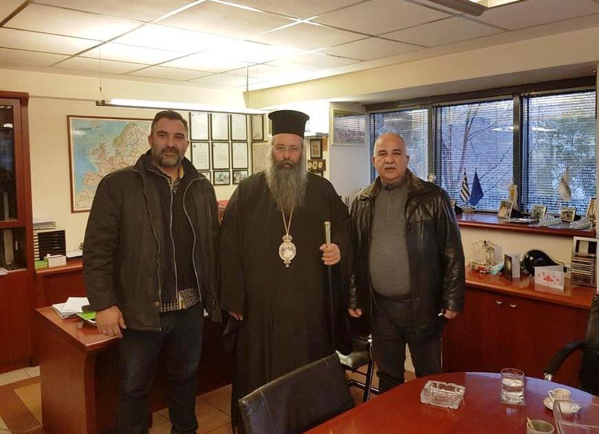 Επίσκεψη του Μητροπολίτη Κίτρους στην Αναστασιάδη Α.Ε.