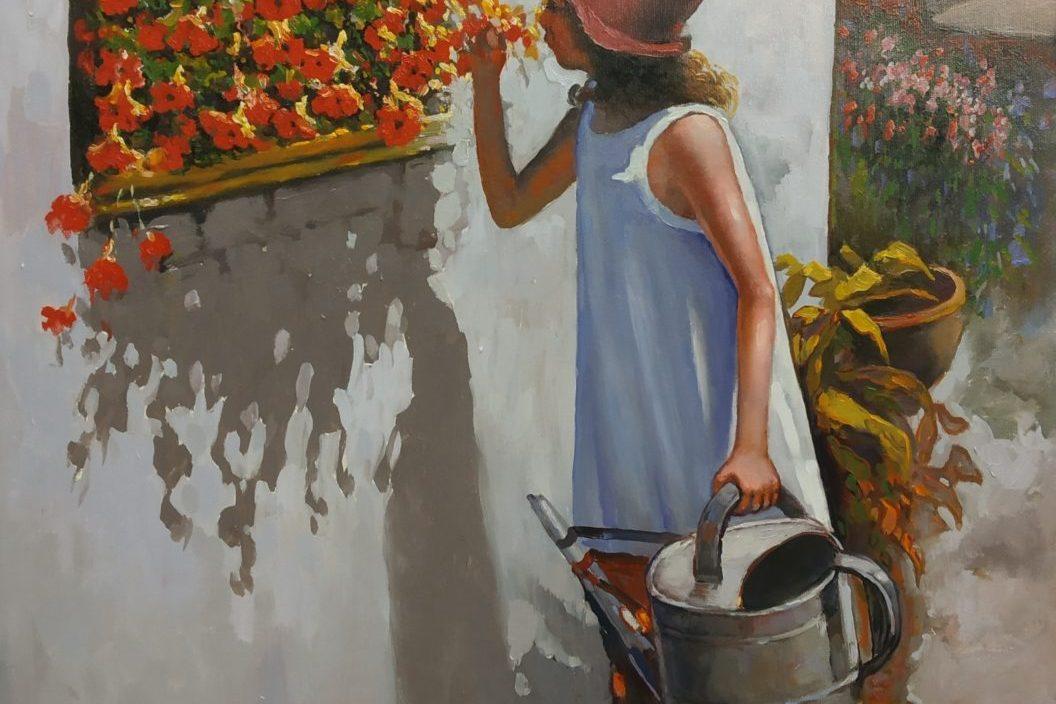 Ολοκληρώνεται η έκθεση ζωγραφικής «Ζωή στην πόλη» του Αθανάσιου Σταθακόπουλου