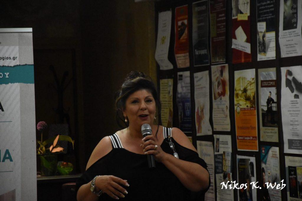 H Λένα Μαντά, η «ροζ λογοτεχνία», η αρένα του βιβλίου & το fb! (VIDEO)