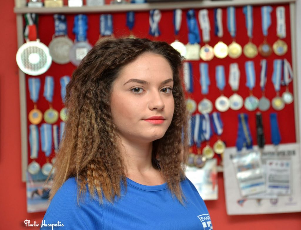 Η Κυριακή Κωτσίλη από το Αιγίνιο στο Βουκουρέστι για το Βαλκανικό Πρωτάθλημα Ζίου Ζίτσου