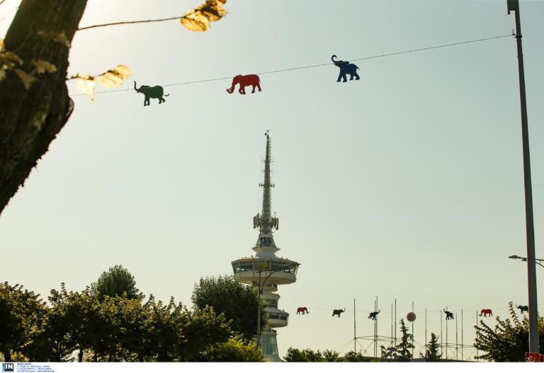 Θεσσαλονίκη: Αυτά είναι τα χρωματιστά ελεφαντάκια προς τιμήν της Ινδίας – Οι εικόνες ενόψει της ΔΕΘ!