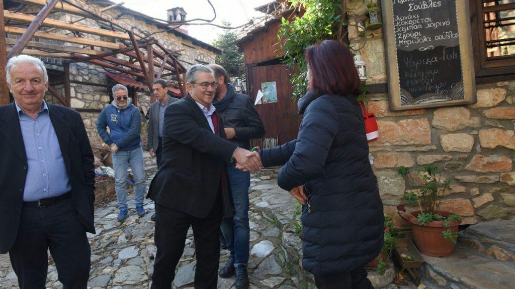 Ο ΓΓ του ΚΚΕ Δημήτρης Κουτσούμπας στην Πιερία – Ομιλία στη Λεπτοκαρυά & επίσκεψη σε Πλαταμώνα, Παλαιό & Νέο Παντελεήμονα
