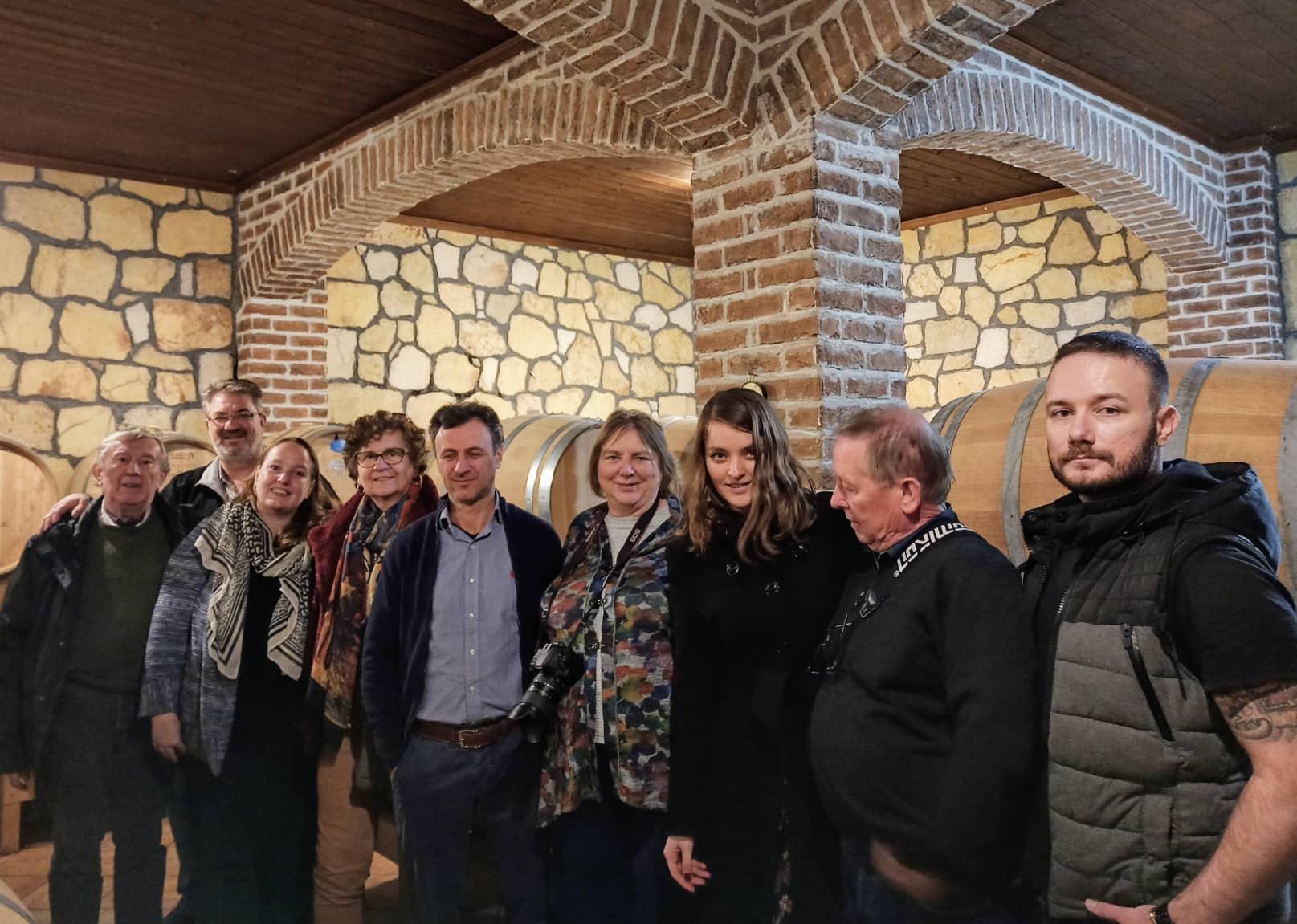 Επίσκεψη Ολλανδών & Βέλγων πρακτόρων και δημοσιογράφων στην Πιερία για την ανάδειξη των τοπικών οίνων