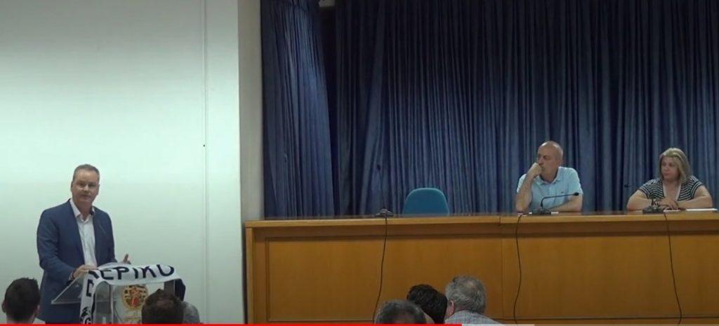 Kώστας Koυκοδήμος: «Όσο είμαι Δήμαρχος, ο Πιερικός θα είναι ψηλά, το λιγότερο στη Β' εθνική!» (VIDEO)