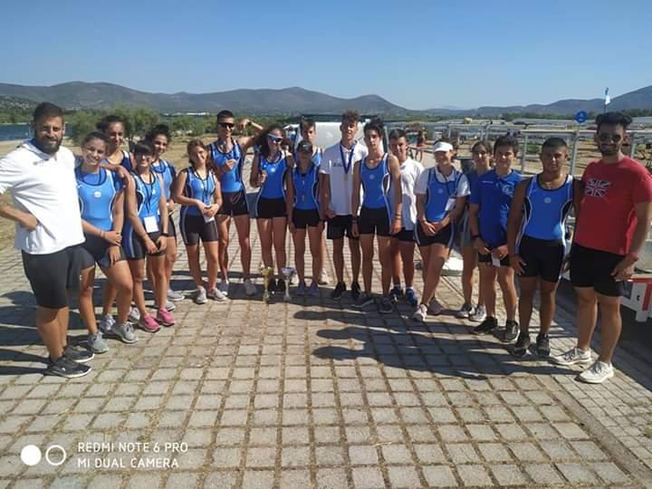 Τρίτος στην Α΄ Φάση του Πανελληνίου Πρωταθλήματος Κωπηλασίας ο Ναυτικός Όμιλος Κατερίνης